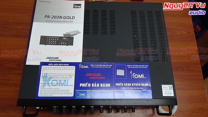 amply jarguar pa-203n gold nhập khẩu hàn quốc