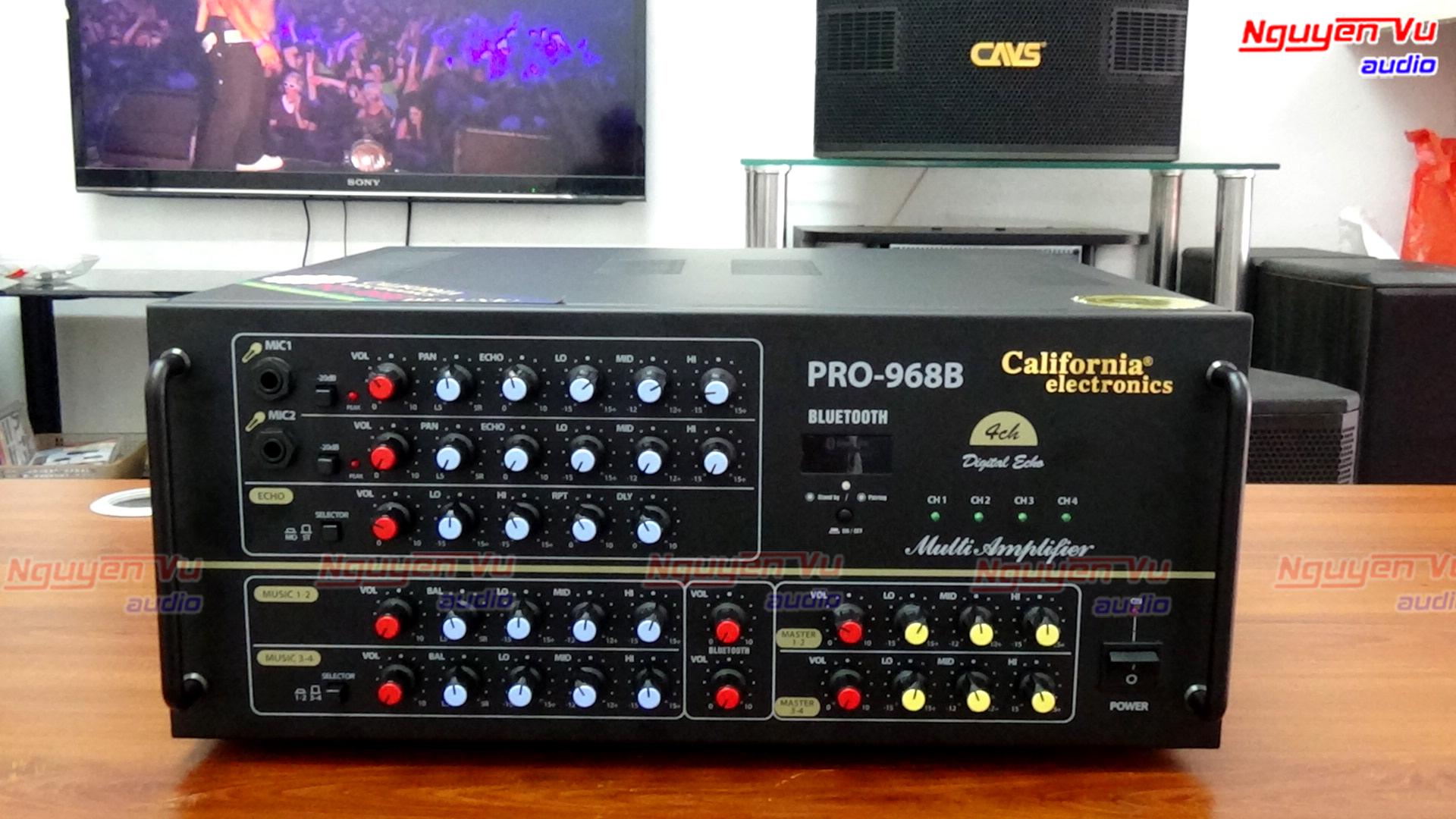Amply california Pro 968B Bluetooth