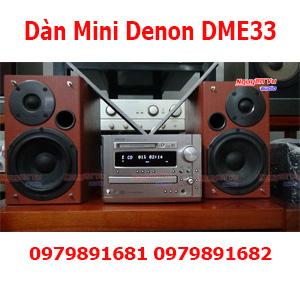 Dàn Mini Denon DME33