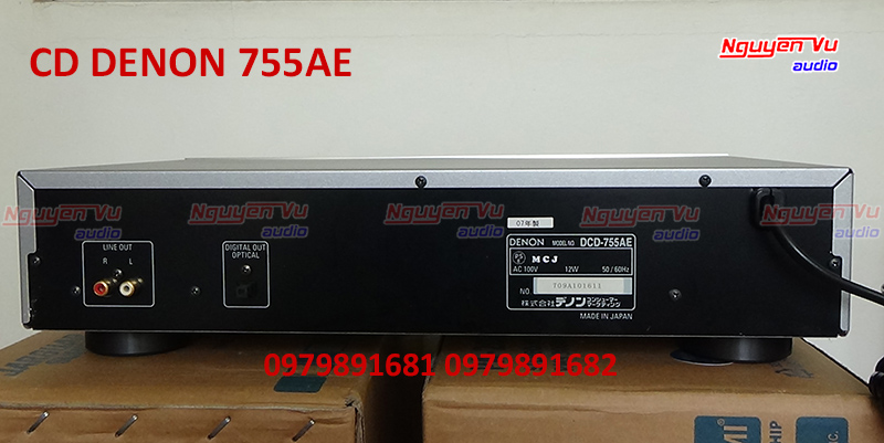 Đầu CD Denon 755AE