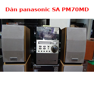 Dàn panasonic SA PM70MD