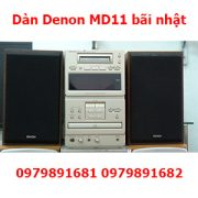 Dàn Denon MD11 bãi nhật