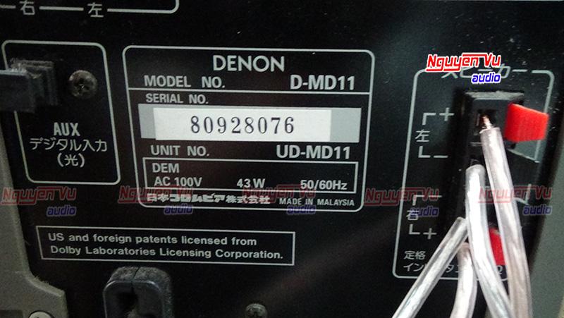 Dàn Denon MD11