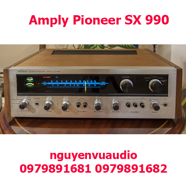 Amply Pioneer SX 990