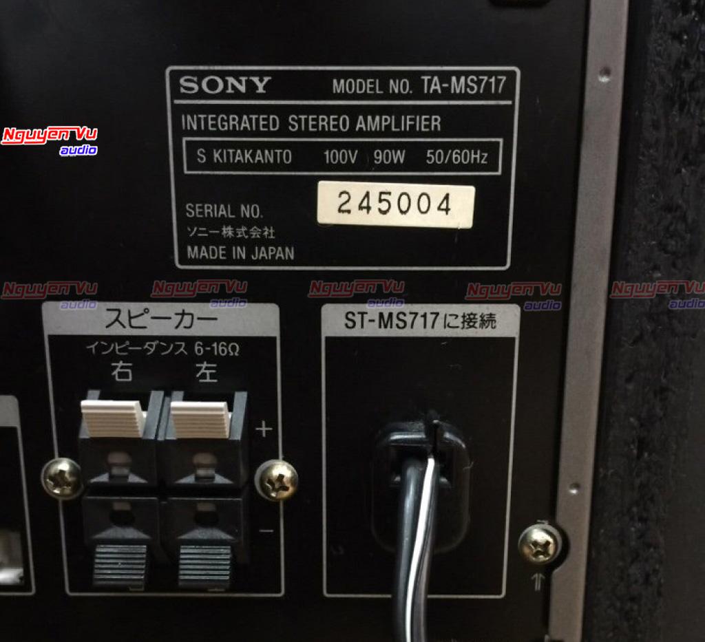 Dàn Sony MD 717