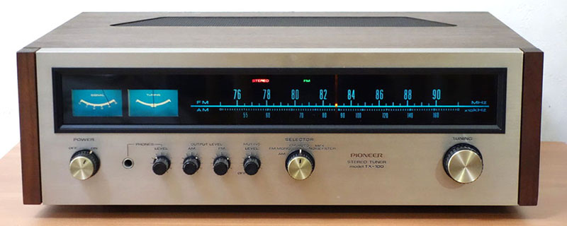 Amply Pioneer TX-100