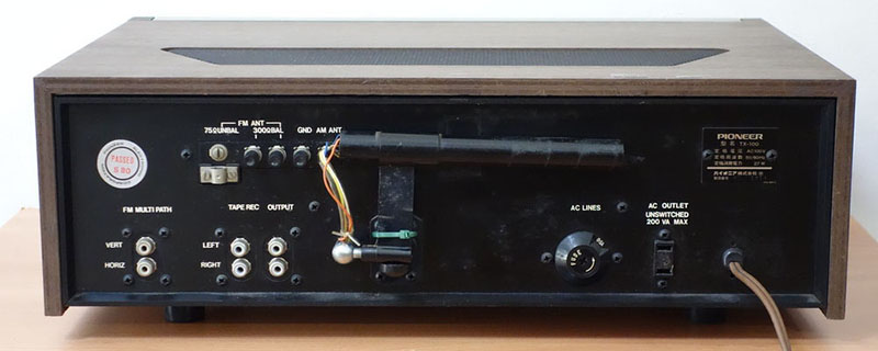 Amply Pioneer TX-100