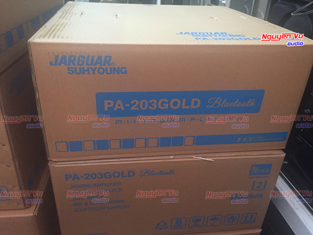 Amply jarguar pa 203 gold bluetooth