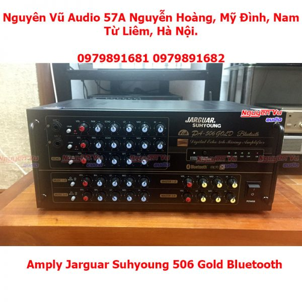 Amply jarguar suhyoung 506 gold bluetooth