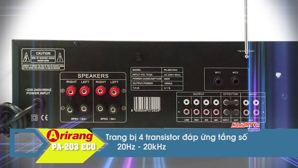 Amply arirang pa 203 Eco Bluetooth