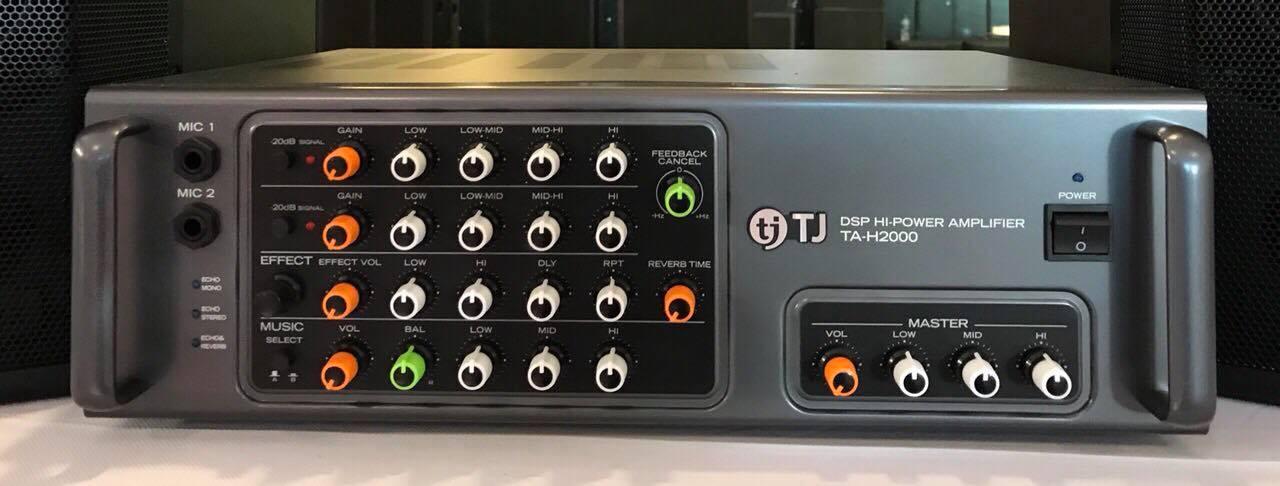 Amply Karaoke TJ TA H2000