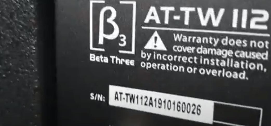 seri của dòng loa b3